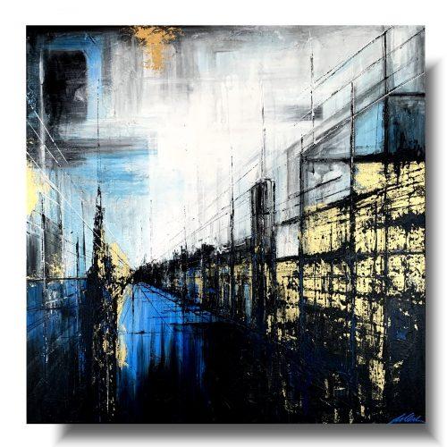 Obrazy ścienne architektura nocne miasto