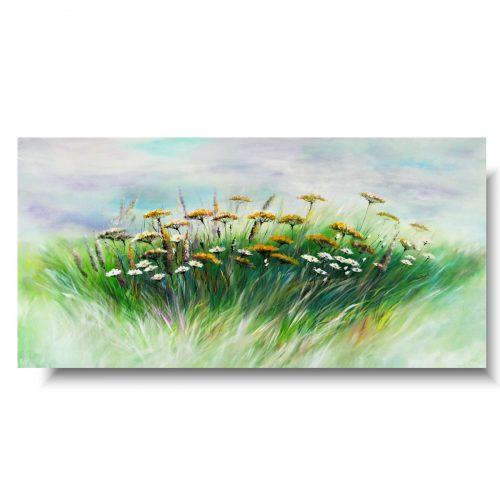 Obrazy ścienne sielska łąka kwiaty polskie