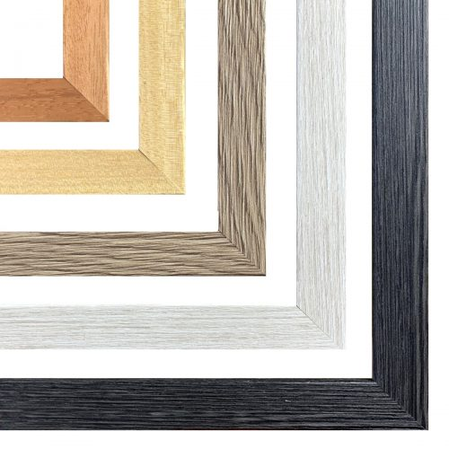Rama do obrazu imitacja surowego drewna