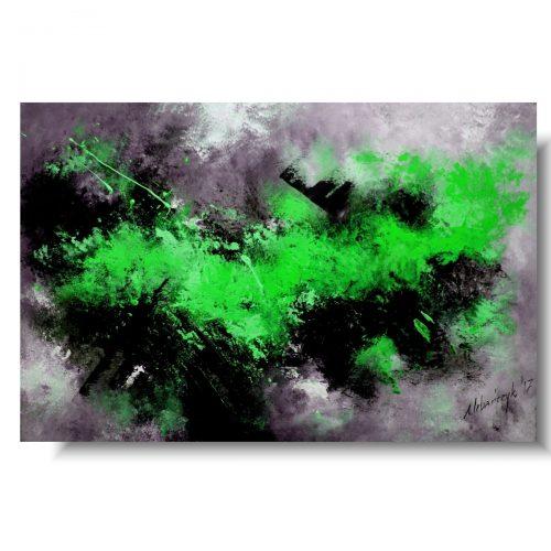 Nowoczesne obrazy wiosenna zieleń