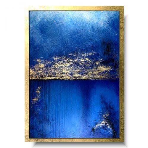 Nowoczesny obraz abstrakcja w niebiosach