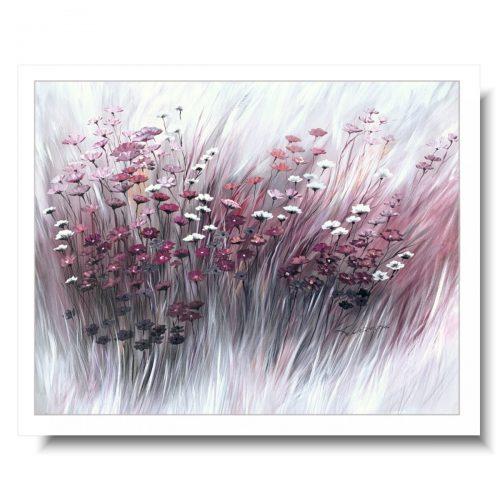 Obrazy w ramie łąka kwiaty polskie
