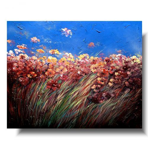 Obraz letnia kwiecista łąka