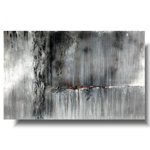Ogromny obraz abstrakcja ściana deszczu