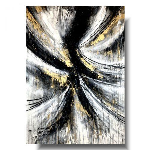 Piękny duży obraz abstrakcja