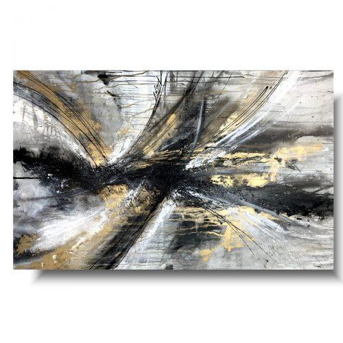 Piękny duży obraz abstrakcja z rozmachem