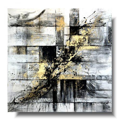 Duży obraz abstrakcja milenium