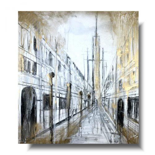 Obrazy architektura złota Toskania