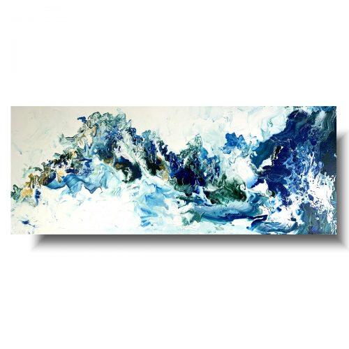 Abstrakcja malowany obraz głębia