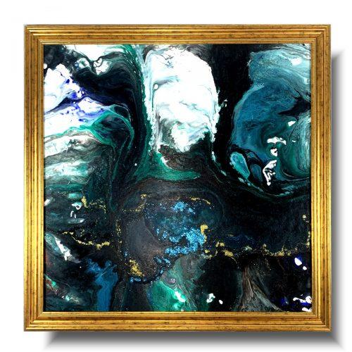 Duży obraz abstrakcja z kosmosu