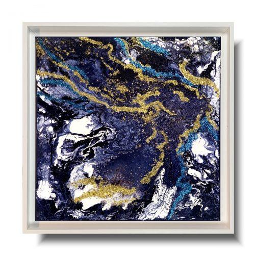 Modny obraz w ramie lodowa kraina