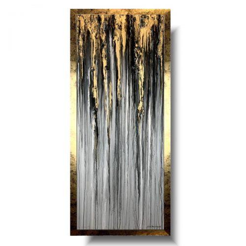 Obraz nowoczesny pionowy szare