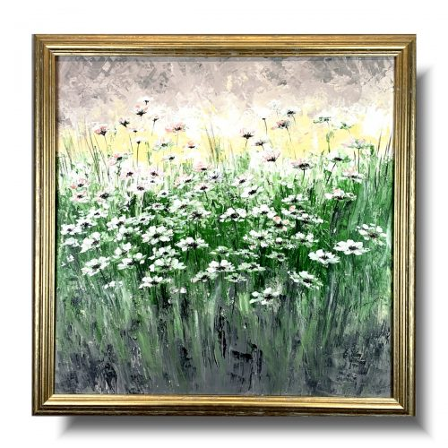 Obraz z kwiatami beztroska łąka