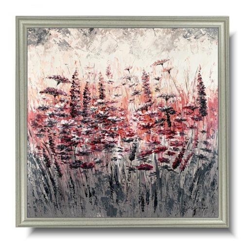 Obraz z kwiatami miłosna łąka