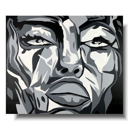 Portret ponętna kobieta