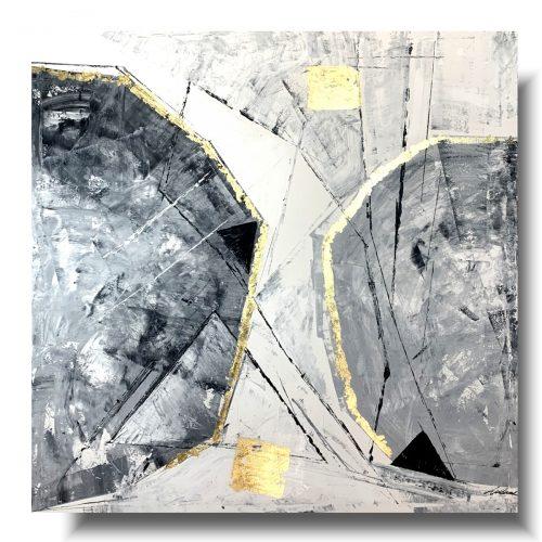 Obraz ręcznie malowany Yin i Yang